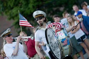 KARA DELAHUNT/For The Patriot Ledger http://www.patriotledger.com/news/x2036715518/Flag-Day-is-a-banner-day-in-Quincy