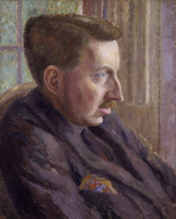 E._M._Forster_von_Dora_Carrington,_1924-25